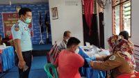 Foto: Vaksinasi Lansia dan Pra Lansia di Lapas Klas IIA Sibolga. (dok/istimewa)