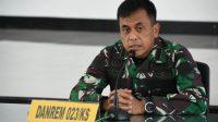 Foto: Danrem 023/KS, Kolonel Inf Febriel Buyung Sikumbang. (dok/istimewa)
