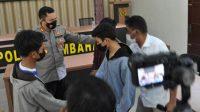 Kapolres Humbahas AKBP Ronny Nicolas Sidabutar saat Memimpin Mediasi di Mapolres setempat. (Istimewa)